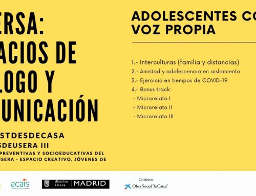 Adolescentes con Voz Propia: jóvenes de Usera #Podcastdesdecasa